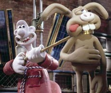 immagine dal film Wallace & Gromit: The Curse of the Were-Rabbit